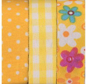 Glorex Textilbänder selbstklebend 68619701