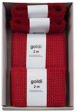 GOLDINA Juteband 6 cm 270060200702