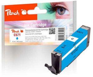 PEACH Tinte Canon PGI-571 Cyan F320130