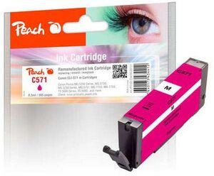 PEACH Tinte Canon PGI-571 Magenta F320131