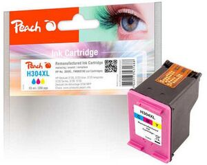 PEACH Tinte HP N9K07AE, No 304XL F320041