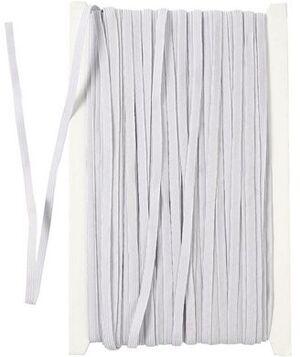 CreativCompany Creativ Company Elastikband weiss 41042A1