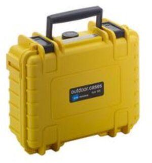 B&W International B&W Outdoor-Koffer 500 gelb, Schaumstoff 500YSI