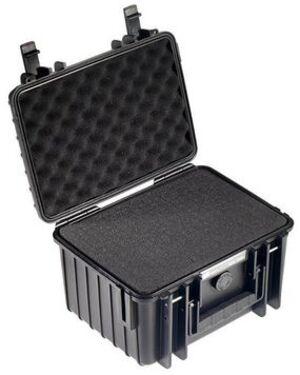 B&W International B&W Outdoor-Koffer Typ 2000 - SI schwarz 2000BSI