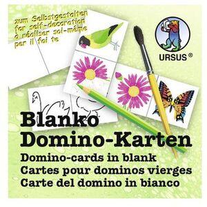 URSUS Blanko Domino Karten 8280000