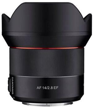 Samyang 14mm f / 2.8, Canon F1110601103