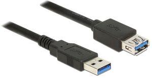 Delock USB3.0 Verlängerungskabel, 1m, A-A 85054