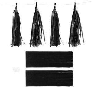 CreativCompany Creativ Company Papier-Quasten schwarz 599802