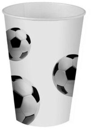Papstar Kartonbecher Soccer 0.2L PAP82830