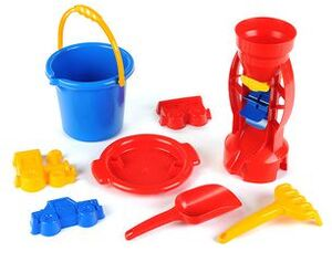 klein Toys AA Sandeimer Set mit Sandmühle 2001