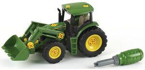 klein Toys JD Traktor + Frontlader 3903