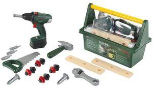 klein Werkzeugbox Bosch 30x16x22 cm, Kunststoff, Batterien 3xAA exkl. ab 3+ 29250520