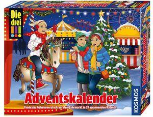 KOSMOS Die Drei!!! Adventskalender 2019 634070