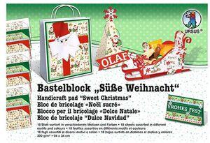 URSUS Motivblock Süsse Weihnacht 11490099