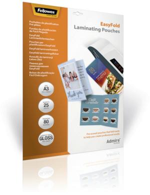 Fellowes Admire Easy Fold Laminierfolie 5602001