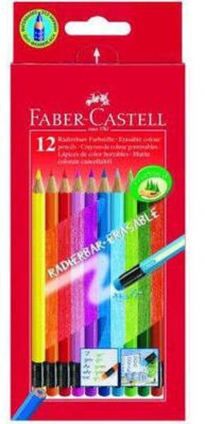 FABER-CASTELL FABER-CA. Radierbare Farbstifte 116612