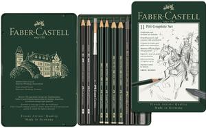 FABER-CASTELL FABER-CA. Graphit-Set PITT 112972