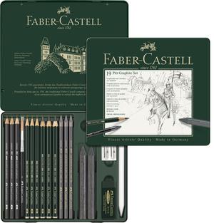 FABER-CASTELL FABER-CA. Graphit-Set PITT 112973