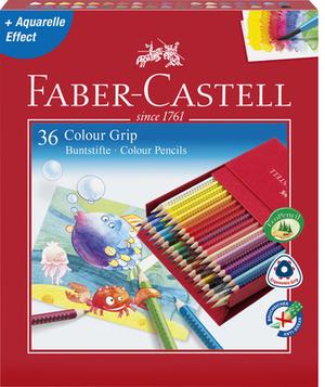 FABER-CASTELL FABER-CA. Farbstifte GRIP 2001 112436