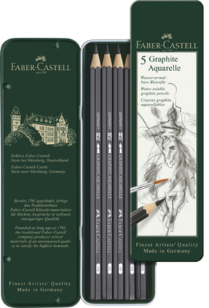 FABER-CASTELL FABER-CA. Graphite Aquarelle Bleistift 117805