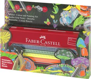 FABER-CASTELL FABER-CA. Jumbo Grip Box & Spitzer 110940