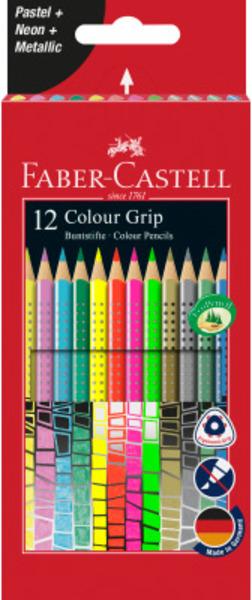 FABER-CASTELL FABER-CA. Colour Grip 12er-Kartonetui 201569