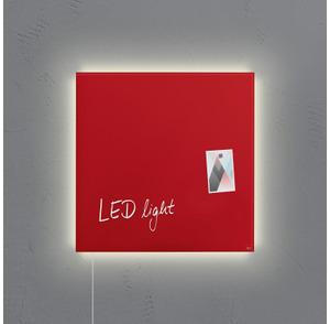 Sigel Glas-Magnetboard LED GL402