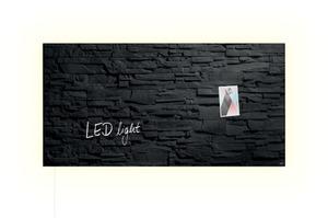 Sigel Glas-Magnetboard LED GL407