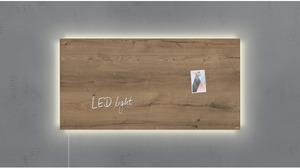 Sigel Glas-Magnetboard LED GL408