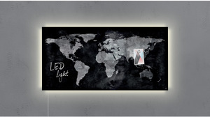 Sigel Glas-Magnetboard LED GL409