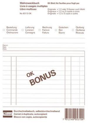 Favorit Mehrzweckbuch OK BONUS A5 8313OK