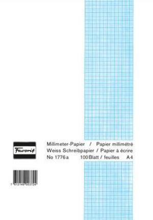 Favorit Milimeterpapier Block A4 1776A