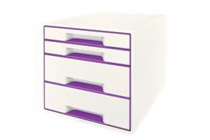 Esselte Leitz LEITZ Schubladenbox WOW Cube A4 52132062