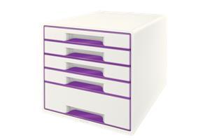 Esselte Leitz LEITZ Schubladenbox WOW Cube A4 52142062