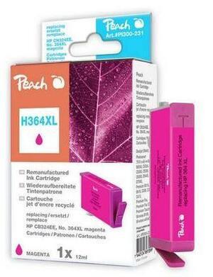 PEACH Tintenpatrone 364XL magenta PI300-362