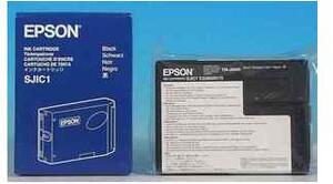 EPSON SJIC1 Ink cartridge f TM-J8000 Black S020175