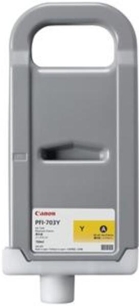 Canon Tintenpatrone yellow PFI-703Y