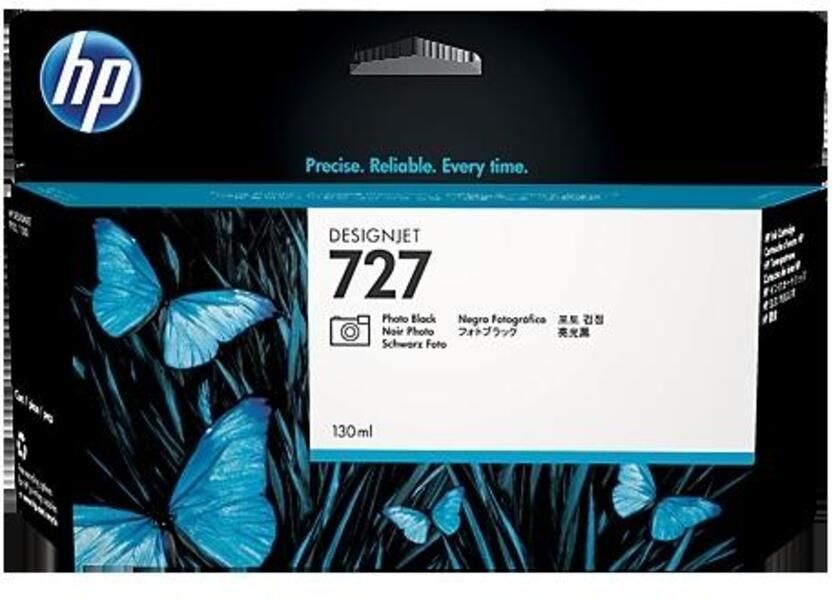 HP Ink Cartridge 727 300 ml Matte Black C1Q12A
