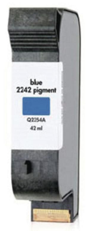 HP SPS Tintenpatrone, 40 ml blau Q2354A