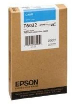 EPSON Tintenpatrone cyan T603200