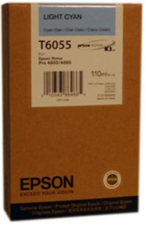 EPSON Tintenpatrone light cyan T605500
