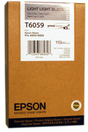 EPSON Tintenpatrone light-lig. black T605900