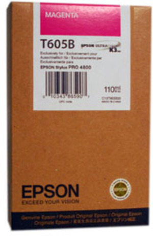 EPSON Tinte magenta 110ml T605B00