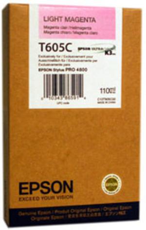 EPSON Tinte light magenta 110ml T605C00