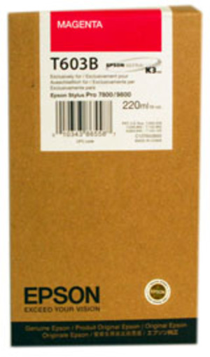 EPSON Tinte magenta 220ml T603B00