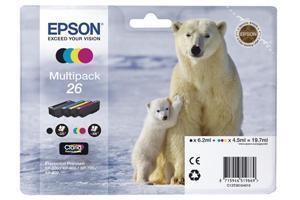 EPSON Multipack Tinte CMYBK T26164010