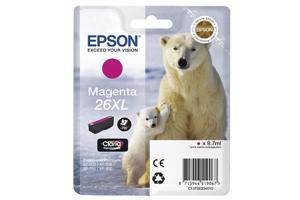EPSON Tintenpatrone 26XL HY magenta T26334010