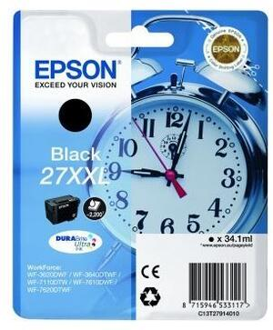 EPSON Tinte C13T27914012 Black XXL C13T27914012