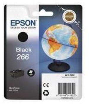 EPSON InkCart/266 Black f WF-100W C13T26614010