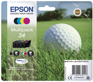 EPSON Multipack Tinte CMYBK T346640